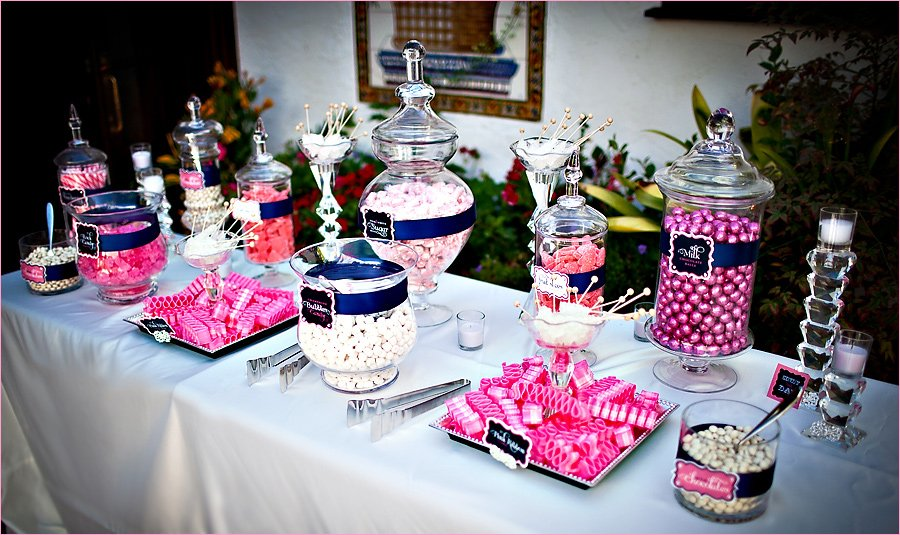 Awesome Candy Table At Wedding Gallery - Styles & Ideas 2018 ...