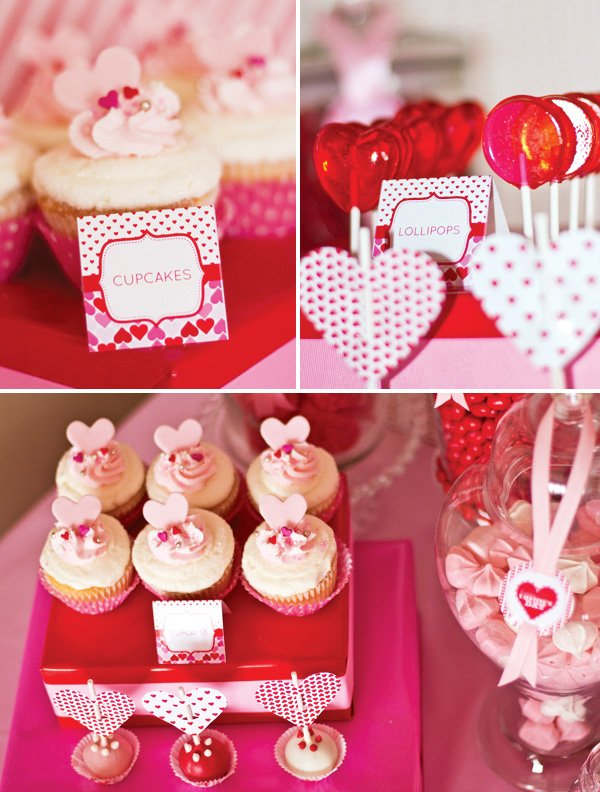 Pink And Red Valentineu0027s Day Party Ideas