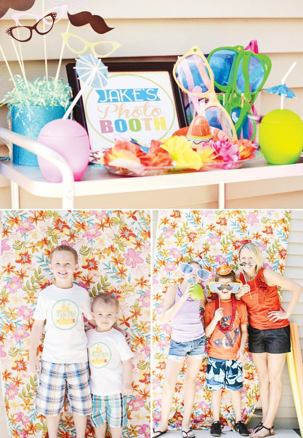 Welcome Summer Party Photo Booth Props