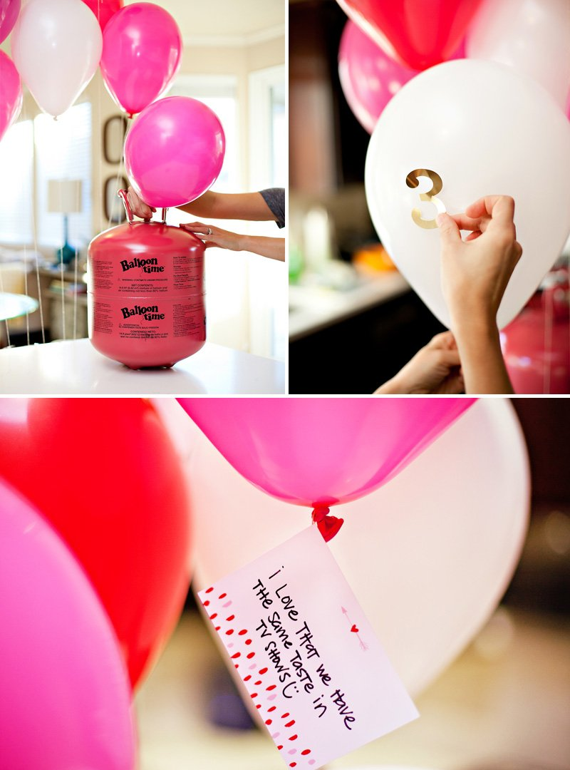 DIY Valentineu0027s Day Balloon Surprise